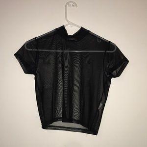 Cotton on mesh short sleeve